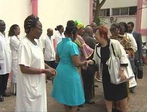 Doris Ouellet se rend au Cameroun pour remettre gracieusement 3000 montures de lunettes