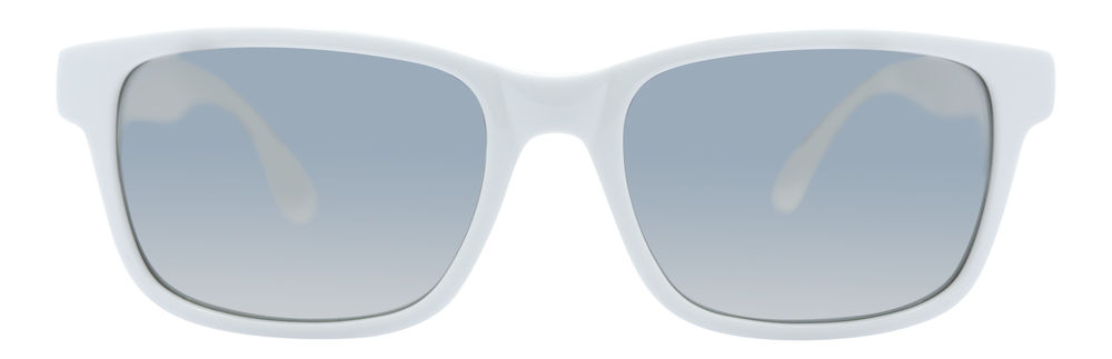 Beautiful and wild classic style Sunglasses with asymmetrical pattern on temples and mirrored lenses - HELLODORIS! 202