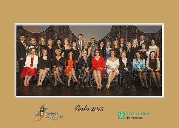 Réseau des femmes d'affaires du Québec - Doris Ouellet reçoit le prix de l'entreprise à propriété féminine de l'année